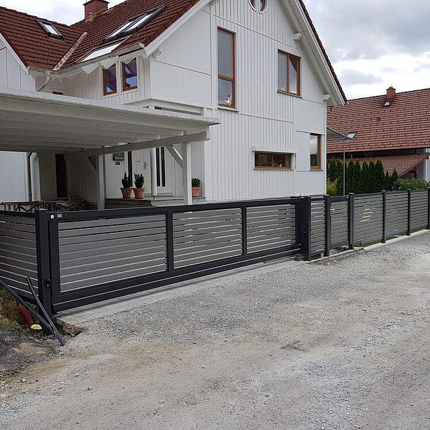 Super-Clôture, Tesla, France, aluminium, clôture alu, clôture en aluminium, clôture de jardin, occultant, clôture occultante