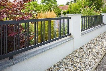 Wagner, Super-Clôture, France, clôture alu, clôture, aluminium, classique, clôture barres rondes,