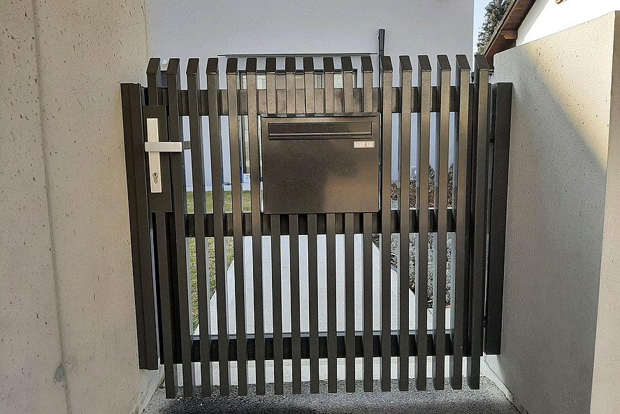 Portillon de jardin en aluminium de Super-Clôture