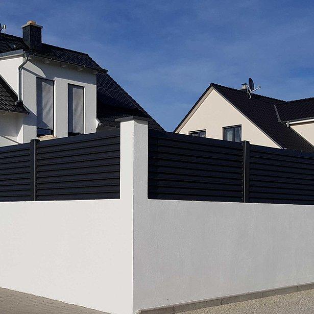 Super-Clôture, Goethe, Göthe, France, aluminium, clôture alu, clôture aluminium, clôture de jardin