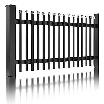 Super-Clôture, Einstein, France, clôture alu, clôture, aluminium, classique,