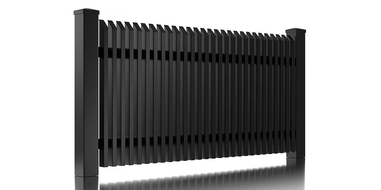 Clôture en aluminium Lichtenberg de Super-Clôture