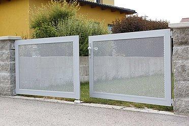Portail de jardin, portail d'entrée, portails, portail de jardin en métal, super-clôture