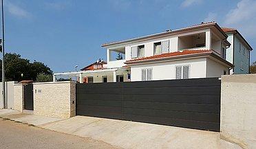 Portail de jardin, portail coulissant, portail automatique, portail de jardin en métal, portails, super-clôture