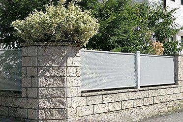 Clôture de jardin, clôture bon prix, clôture, éléments de clôture, clôture métallique, super-clôture