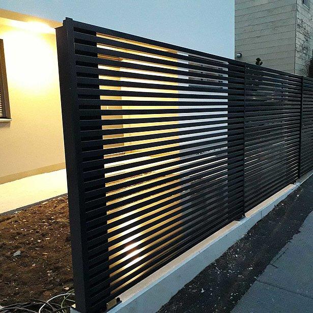 Super-Clôture, Magnus, France, clôture alu, clôture aluminium, clôture de jardin, clôture jardin