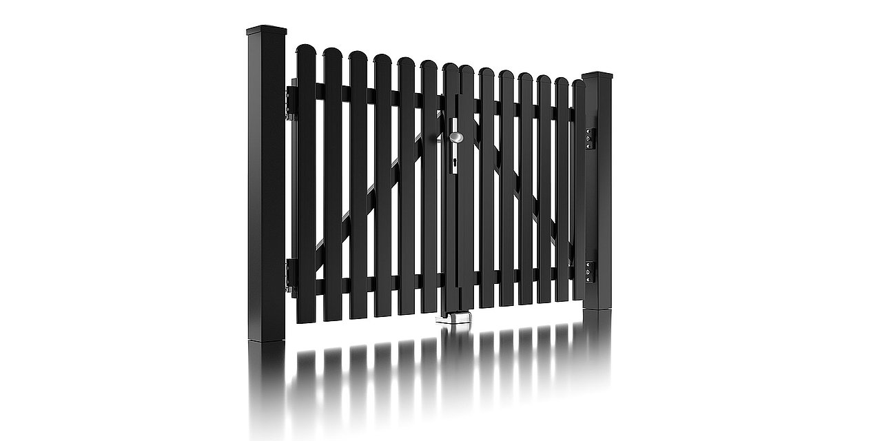 Super-Clôture, Fahrenheit, France, clôture à lattes, clôture alu, intemporel, classique, clôture, panneau de clôture