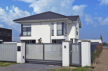 Portail de jardin, portails, portail coulissant, portail de clôture, portail coulissant électrique, portail bon marché, super-clôture