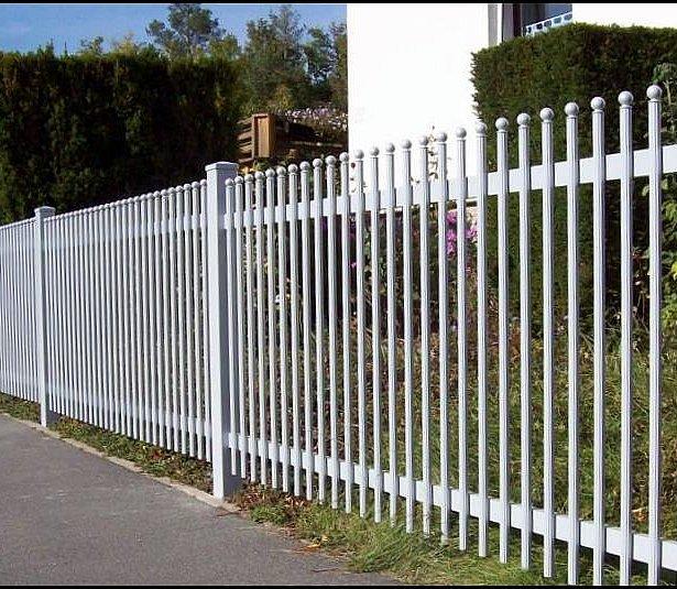 Super-Clôture, clôture en aluminium, clôture à barres, clôture bon marché, France,