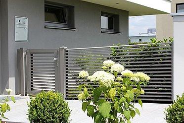 Porte d'entrée, Porte piétonne, portillon de jardin, porte, Super-Clôture, portillon