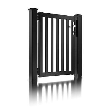 Super-Clôture, Galilée, France, barre, clôture, clôture alu, classique, classiques, porte piétonne, classique