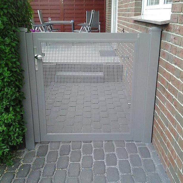Super-Clôture, clôture en tôle, clôture aluminium, clôture alu, clôture bon marché, France,