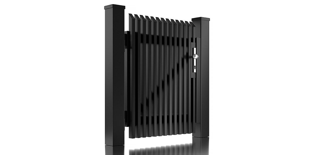 Portillon de jardin en aluminium Lichtenberg de Super-Clôture