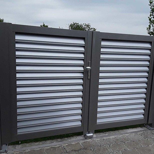 clôture de jardin, clôture moderne, portail de jardin, clôture de jardin, super-clôture