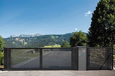 Portail de jardin, portails, portail de jardin alu, portails bon prix, portail d'entrée, super-clôture