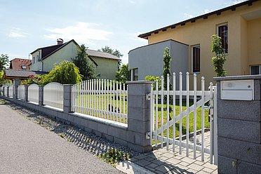 Super-Clôture, Einstein, France, porte piétonne, portail, aluminium, classique,