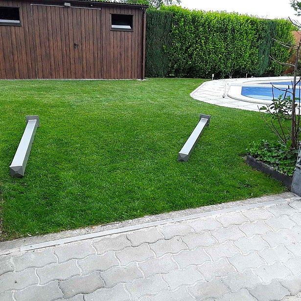 Clôture de jardin, clôture, clôture moderne, clôture bon marché, super-clôture
