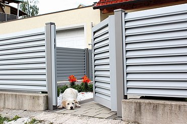 Super-Clôture, Göthe, France, porte piétonne, portail, opaque, moderne
