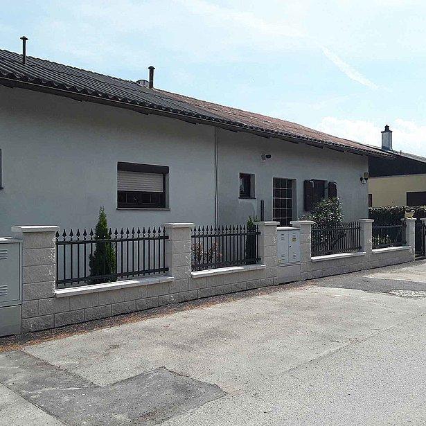 Super-Clôture, Gutenberg, France, aluminium, clôture alu, clôture aluminium, clôture de jardin, clôture jardin