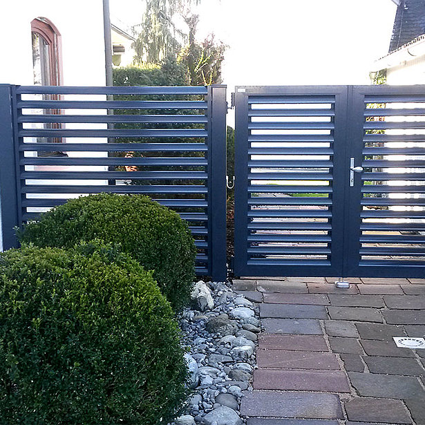 Super-Clôture, clôture aluminium, clôture alu, porte piétonne alu, portail alu, France,