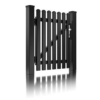 Super-Clôture, Fahrenheit, France, clôture à lattes, clôture alu, intemporel, classique, porte piétonne, portail