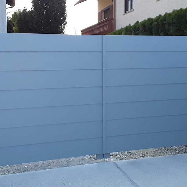 Super-Clôture, Heisenberg, France, aluminium, clôture alu, clôture en aluminium, clôture de jardin, occultant, clôture occultante, clôture de jardin occultante