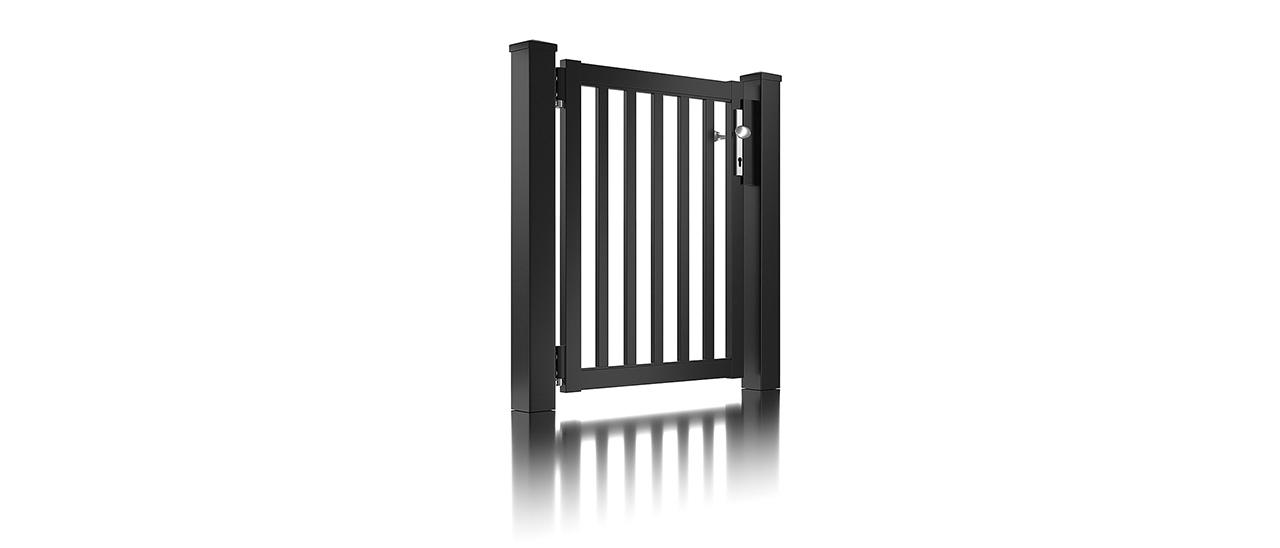 Super-Clôture, Galilée, France, barre, clôture, clôture alu, classique, classiques, porte piétonne, portail