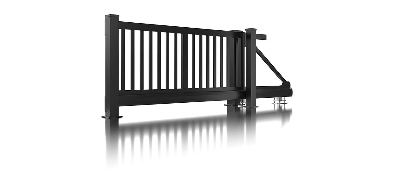 Super-Clôture, Galilée, France, barre, clôture, clôture alu, classique, classiques, portail coulissant, portail